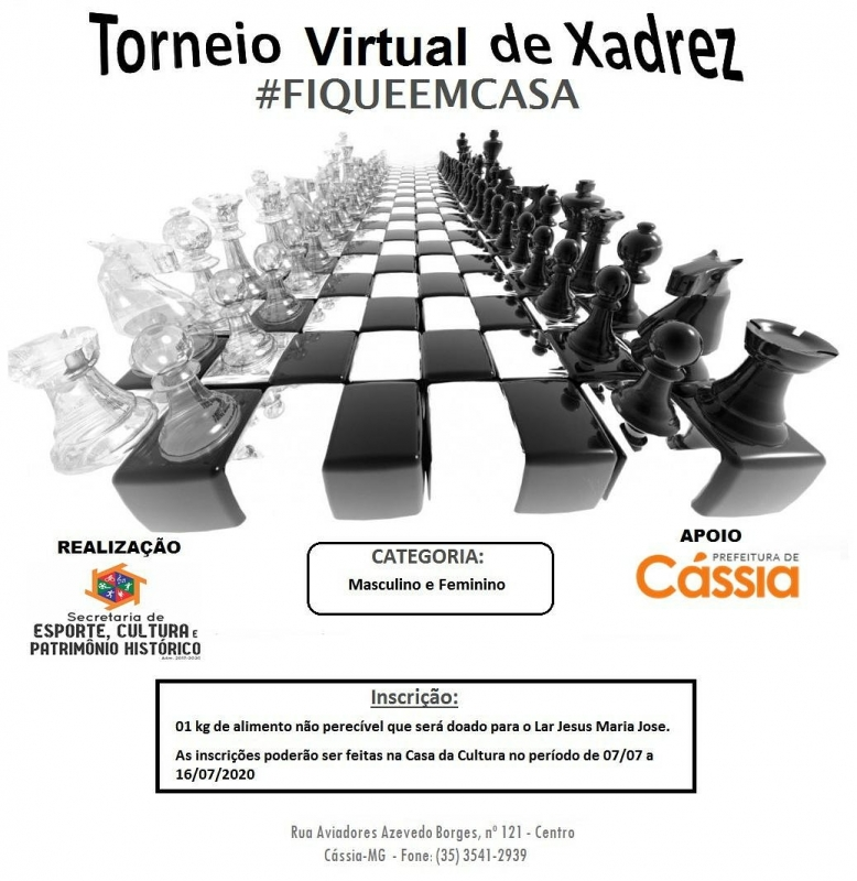 Torneio Virtual de Xadrez